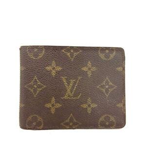 Louis Vuitton Monogram Multiple Bifold Wallet /E1341