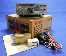 Kenwood TS-430S HF Transceiver, FM, CW Filter, Original Manual, Tested, Boxed,