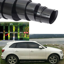 50cmx3m Universal 5% VLT Black Pro Car Home Glass Window Tint Tinting Film Roll
