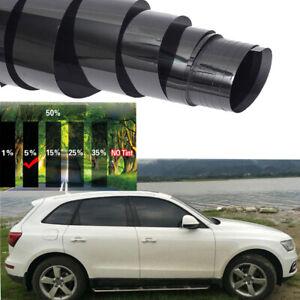 50cmx3m Universal 5% VLT Pro Car Home Glass Window Tint Tinting Film Roll Black