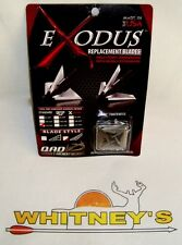 QAD- Exodus Swept Replacement Blades - 125 Gr.-BR125-S