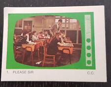 Monty Gum trading card 1970 TV Series: Please Sir #1