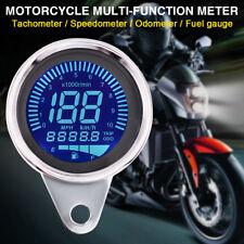 10000rpm Motorcycle Universal LCD Digital Speedometer Tachometer Odometer Gauge
