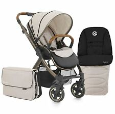 BabyStyle Oyster 2 Special Edition Pram / Pushchair / Buggy - City Bronze