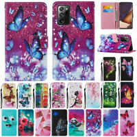 For Samsung Galaxy S20 FE 5G/4G Patterned PU Leather Wallet Flip Case Cover