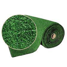 Erba Finta Sintetica Prato 2 x 25 Mt Verde Monofilamente Altezza 10 mm Anti UV