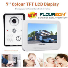 "7"" TFT Monitor Video Camera Phone Intercom Door bell Home Security Entry system"
