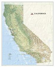 National Geographic Reference Map Ser.: California - National Geographic by National Geographic Maps Staff (2017, Sheet Map, Rolled)