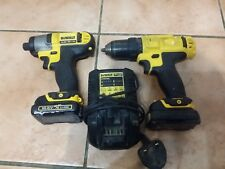 DeWalt 10.8v Lithium DCF815 Impact Driver and DCD710 Drill Driver