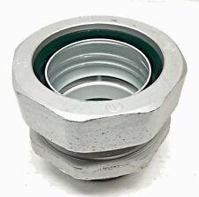 "CFI LT250-I 2-1/2"" Insulated Liquidtight Connector for Flexible Metallic Conduit"