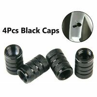 4pcs* Aluminium Car Wheel Tyre Valve Stems Air Dust Cover Screw Cap Accessories