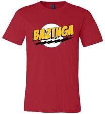 Bazinga - The Big Bang Theory - Sheldon Cooper - Large (L) Men's - New & Sealed