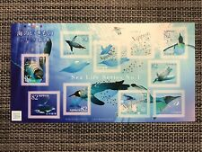 Sea Life Series No.1 Japan Commemorative Stamps Sheet MNH