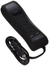 MobileSpec 12V DC to AC Power Strip Inverter 150 Watts - 2 AC outlets 2 USB port