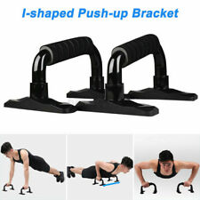 Push Up Bars Metal 2 Pieces Steel Pair Pushup Gym in Home Exercise Fit Workout K