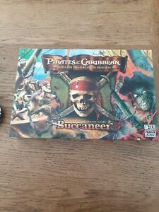 BUCCANEER Disney Pirates Of The Caribbean 2006 board game opened never used