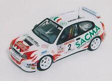 TOYOTA COROLLA WRC FONTANA C: RALLY COPPA D'ORO  2002 DECALS SERIGRAFIA 1/43