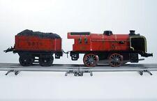 Hornby Dampf-Lokomotive Spur 0, automatische Kupplung, Federwerk, mit Tender