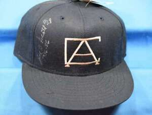 Joe B Scott Psa Dna Coa Autograph Negro League Chicago Americans Hat Signed