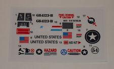 GI Joe Polar Battle Bear Skimobile Sticker Decal Sheet