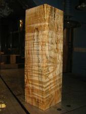 SPALTED FIGURED BIG LEAF MAPLE WOOD TURNING LUMBER 4 x 4 x 14 VASE BLANK