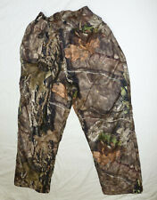 Gamehide Men's Insulated Hunting Pants Large Mossy Oak Camo EUC!