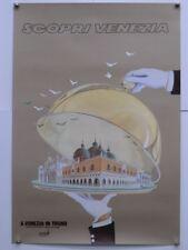 'Scopri Venezia' Vintage Venice Italian travel poster