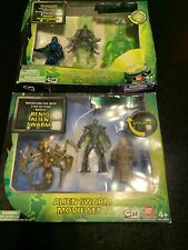 BANDAI BEN 10 Alien Swarm Movie set 1 & 2 (lot of 2) In package-New Nanomech