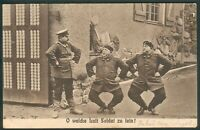 Preußen,3 Karten-2 davon Feldpost,Motiv Soldatenleben, Z.2-3