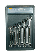 Halfords Metric Combination Spanner Set Kit 9 Piece 8mm - 19mm Garage Hand Tools