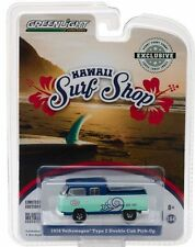 `76 VW T2 Double Cab DoKa  Hawaii SURF SHOP - Doppelkabine * Greenlight 1:64 OVP