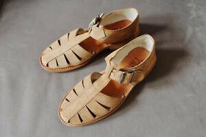 Beautiful tan suede YMC fisherman sandals, size UK6, beautifully made
