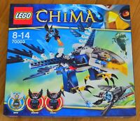 LEGO Legends of Chima Eris' Eagle Interceptor - 70003 - Rare New Sealed Set