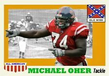 MICHAEL OHER THE BLINDSIDE OLE MISS ACEO ART CARD #### BUY 5 GET 1 FREE ##
