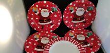 """Holiday plates Santa 8"""""""
