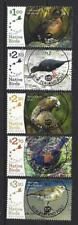 NEW ZEALAND 2017 RECOVERING NATIVE BIRDS SET 5 FINE USED