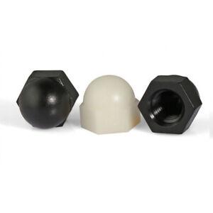 10Pcs Nylon Cap Nut Plastic Hex  Acorn Decorative Nut M3 M4 M5 M6 M8 M10 M12 M20