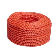 3 Strand Reel 8mm x 200Mtr Genuine Polyethylene Silver Rope