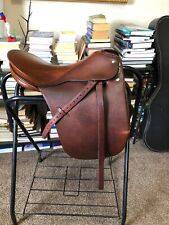 Passier PS-BAUM  Saddle, 17.5 Seat, Medium Tree, Chestnut