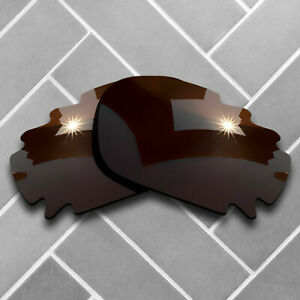 Nut Brown Replacement Lenses for-Oakley Jawbone Vented Racing Jacket Polarized