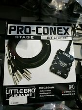 Pro-Conex Stage Studio Little Bro Sub Snake