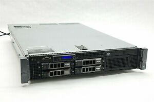Dell PowerEdge R710 Server 2*Xeon X5570 2.93GHz CPU 48GB RAM 4*1TB SAS PERC 6i