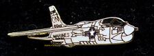 F-8 CRUSADER LAPEL HAT PIN UP US MARINES MCAS USS VIETNAM PILOT WING CREW GIFT