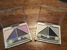 SET OF 2 DISCONTINUED EARLY E.L.F. EYE SHADOW QUADS~SILVER LINING & DRAMA