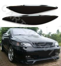 Fits Vauxhall, Opel Astra G Mk4 Headlights  EyeBrows ABS PLASTIC, tuning