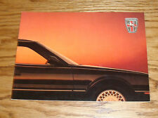 Original 1989 Sterling Sales Brochure 89 827 S SL SLi