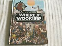 Star Wars Where's The Wookiee? A Look & Find Book Hardcover NEW Copyright 2016
