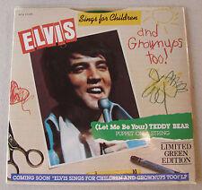 Elvis Presley Teddy Bear / Puppet On String RARE HARD COVER VERSION SEALED MINT