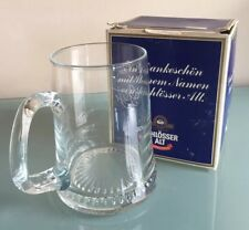 Vintage SCHLOSSER ALT 0.6L Glass Stein For Guests AR Monogram Original Box