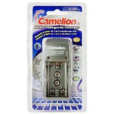 Chargeur CAMELION BC1001 pour Accus AA, AAA et 9V - Envoi en suivi